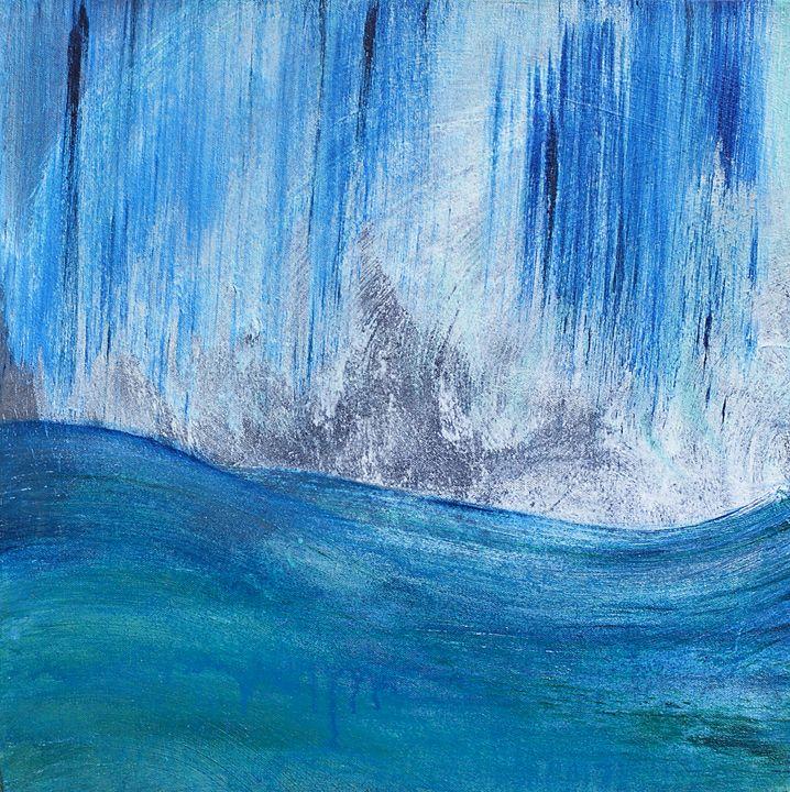 """""""Blue Storm"""" - Art by Jess Hooks"""