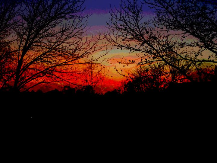 Posterized Sunset - Christa Noelle Photography