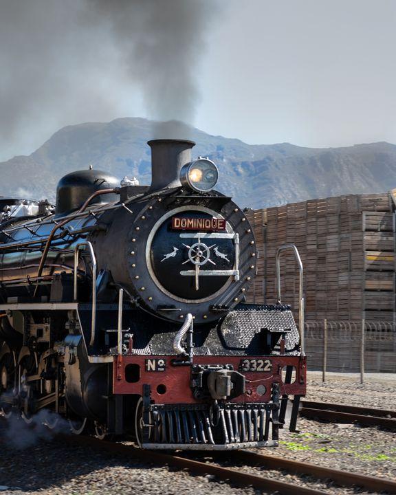 Steam Train - Gary's Art