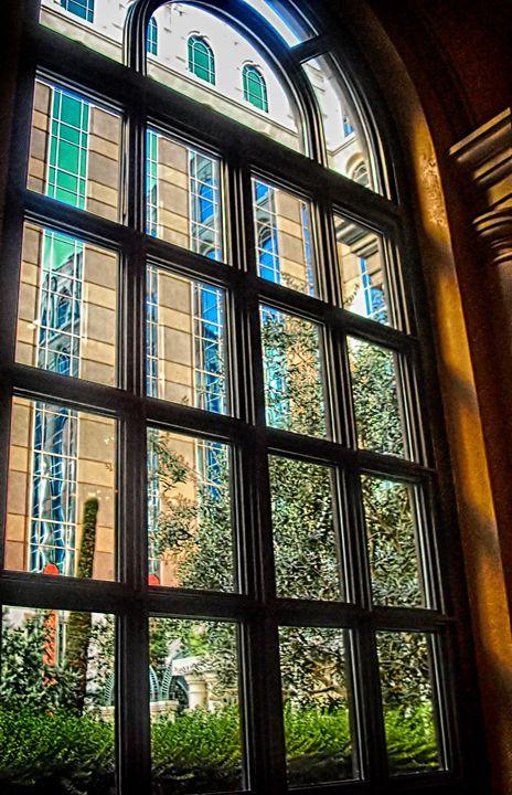 Through A Window - Anne Rodkin Photography