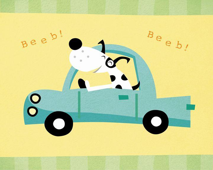 Spotty the dog goes Beeb Beeb! - Brenda Sexton