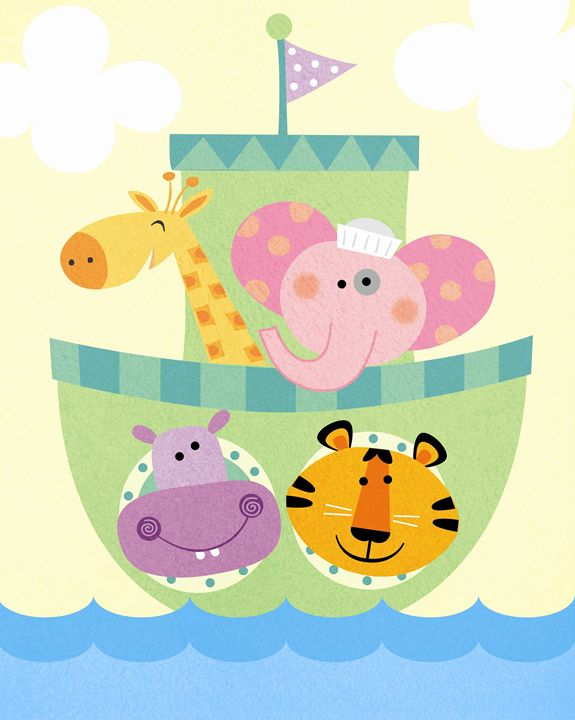 Jungle Animals Set Sail! - Brenda Sexton