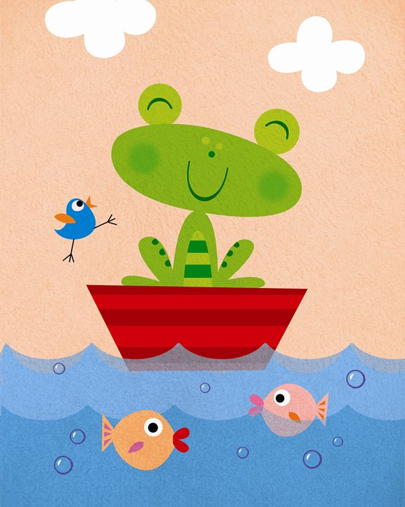 Froggie goes Sailing! - Brenda Sexton