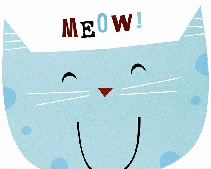 Big Blue Cat! - Brenda Sexton