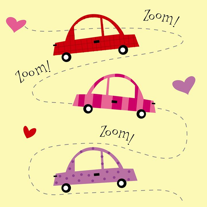 Zoom Zoom Cars - Brenda Sexton