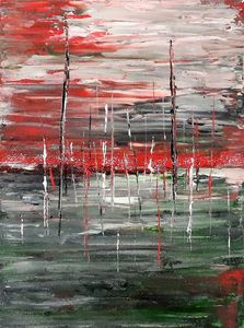 Contemporary Abstract Acrylic Art