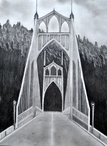 St Johns Bridge - Eye Candy Creations