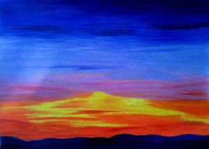 Sunset from Ophir - Eye Candy Creations