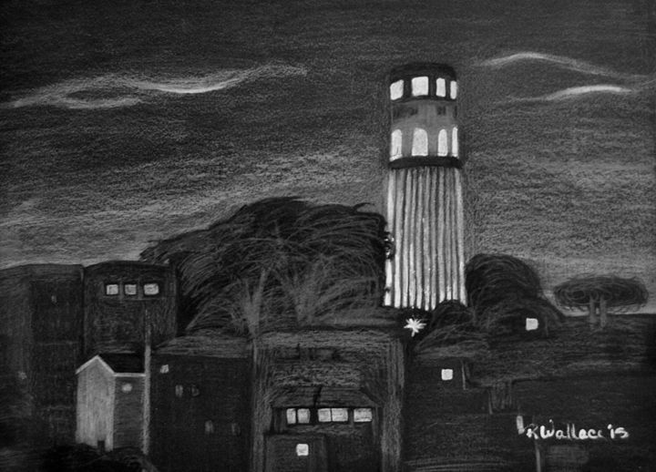Coit Tower - Eye Candy Creations