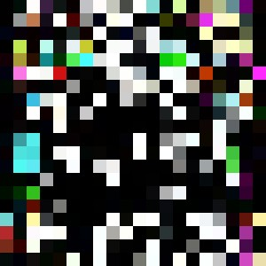 30x30 inch canva neonliqour3000 - PortraitsbyJuba