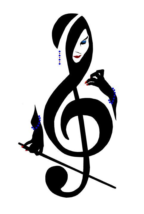 Music Girl Gypsy - NewmanArt
