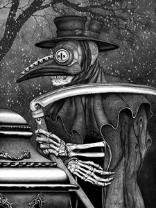 Grim Reaper Plague Doctor Death