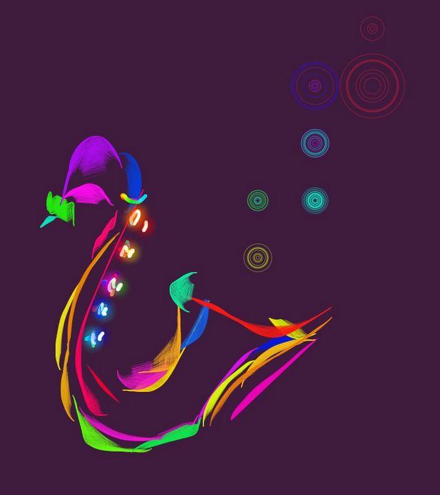Blowing bubbles - Artworkglaumerate etc