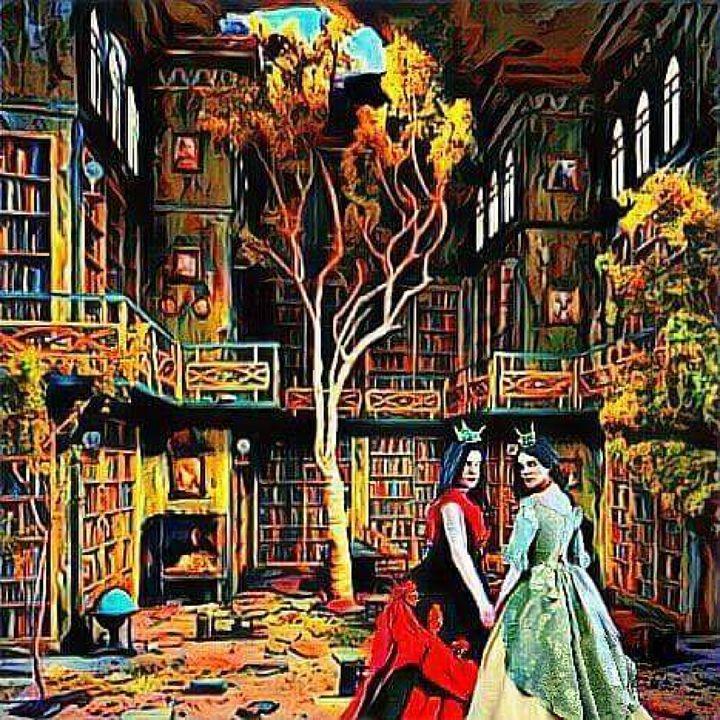 Hidden Library - Painted Nebula