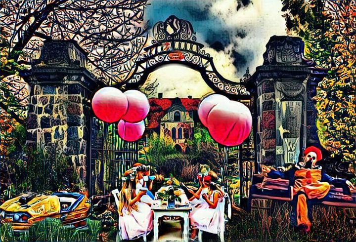 Tea Party - Painted Nebula
