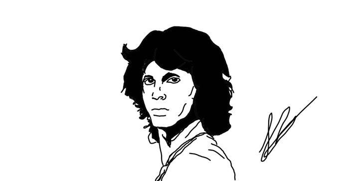 Jim - cartoon art