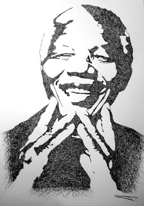 Nelson Mandela - CHAPUIS Baptiste