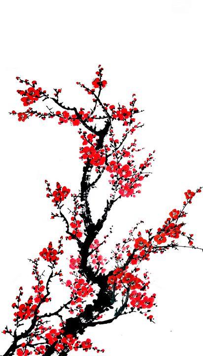 Japanese Cherry Blossoms - Treasure Hustlers