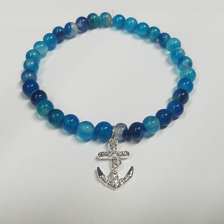 Swarovski Anchor Turquoise Bracelet - Treasure Hustlers