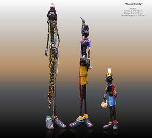 """ Masai family"" Hagenaars collection"