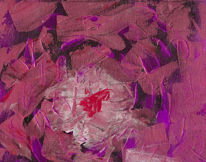 Fire Pink Red - L. J. Smith Fine Art