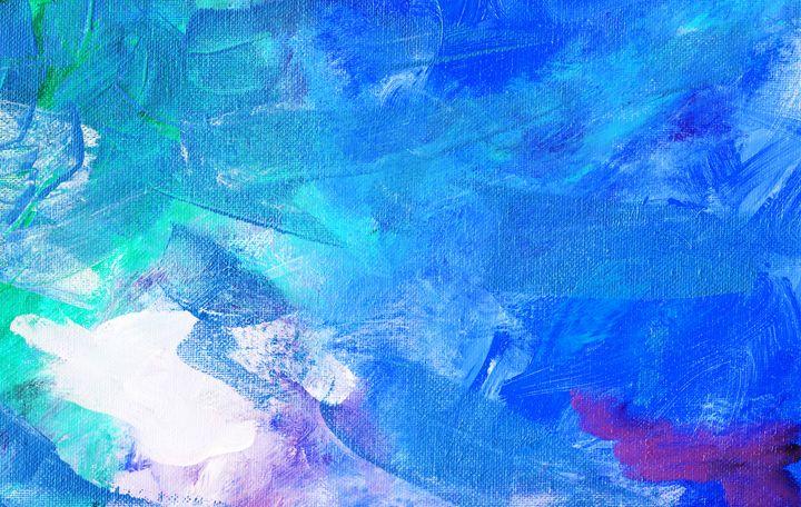 IMPACT Blue - L. J. Smith Fine Art