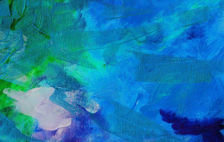 IMPACT Deep Blue - L. J. Smith Fine Art
