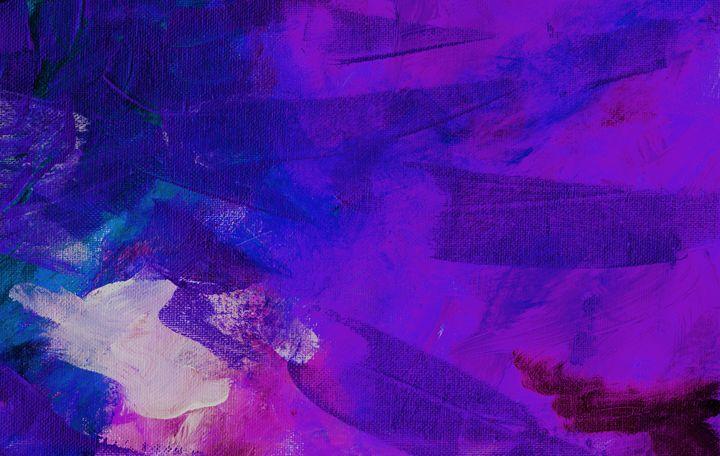 IMPACT Purple Blue - L. J. Smith Fine Art