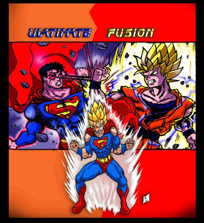 Ultimate Fusion - Original Comic/Cartoon Fan Art & Oil Paintings