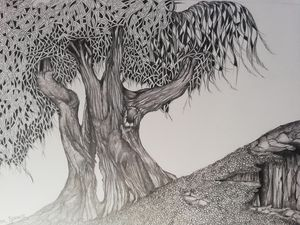 Tree 2 deep roots