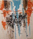 Acrylic, Canvas