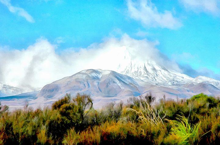 Mount Ruapehu of LOTR fame - Chandra
