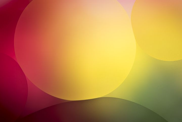 Multi colored background with circle - Chandra