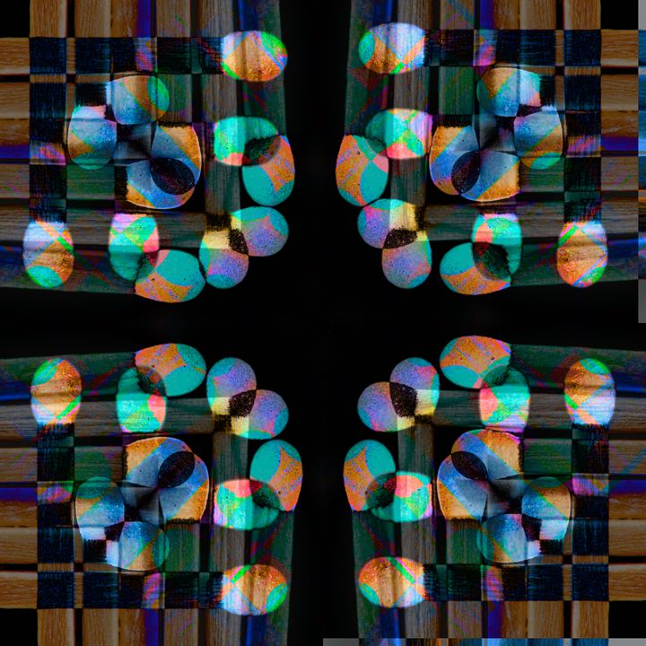 Abstract geometric patterns - Chandra