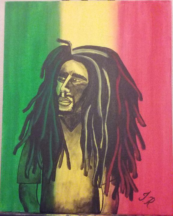 Bob Marley - Jackie's Art