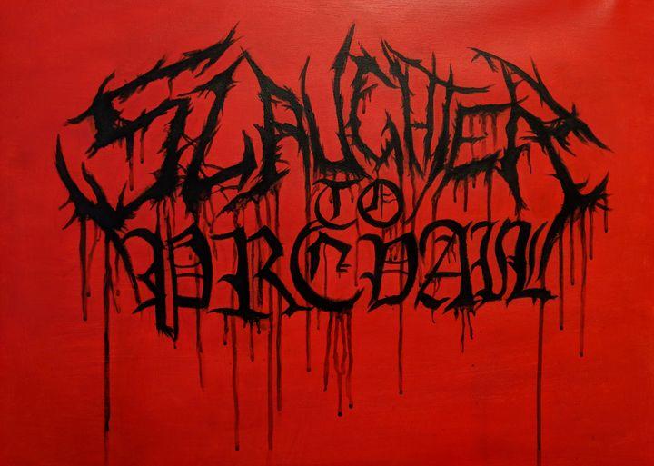 Slaughter to Prevail logo - World of Trissana