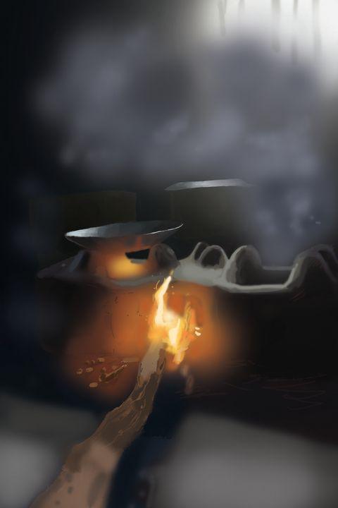 smoke - illustrationwala_