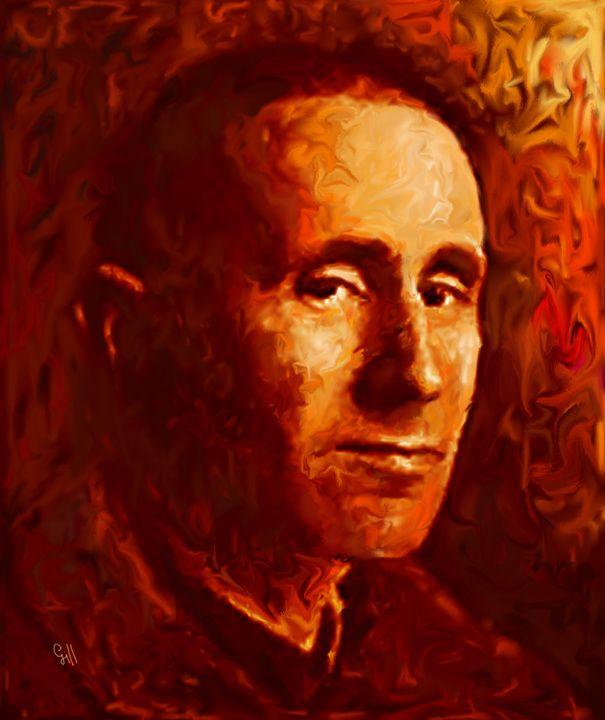 Bertolt Brecht - Shubnum Gill's Art