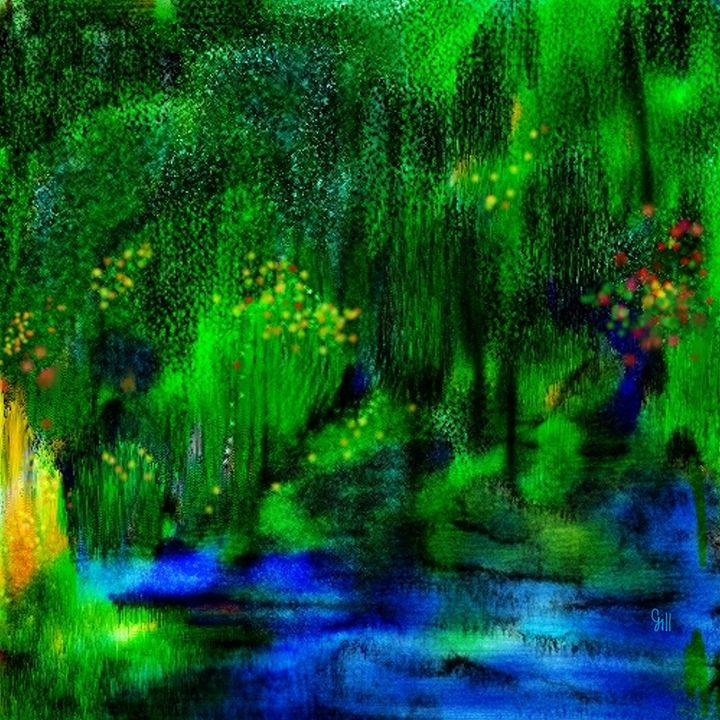 Landscape in my Dream - Shubnum Gill's Art