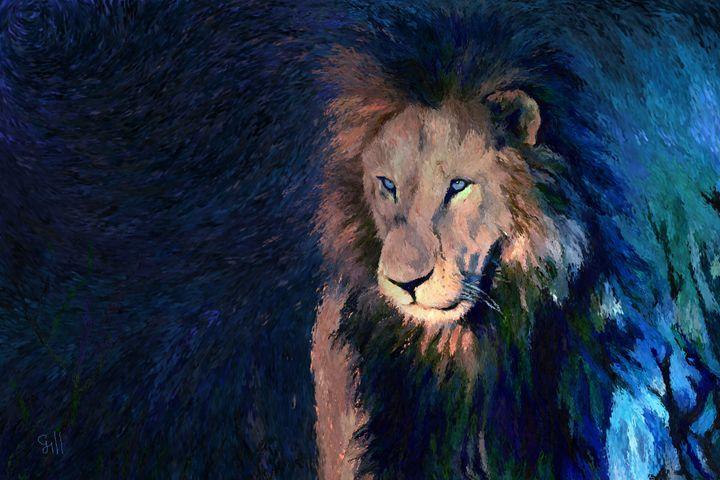 Lion2 - Shubnum Gill's Art