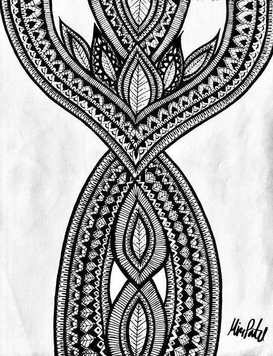 Tear Drop Henna - Mira Patel Art