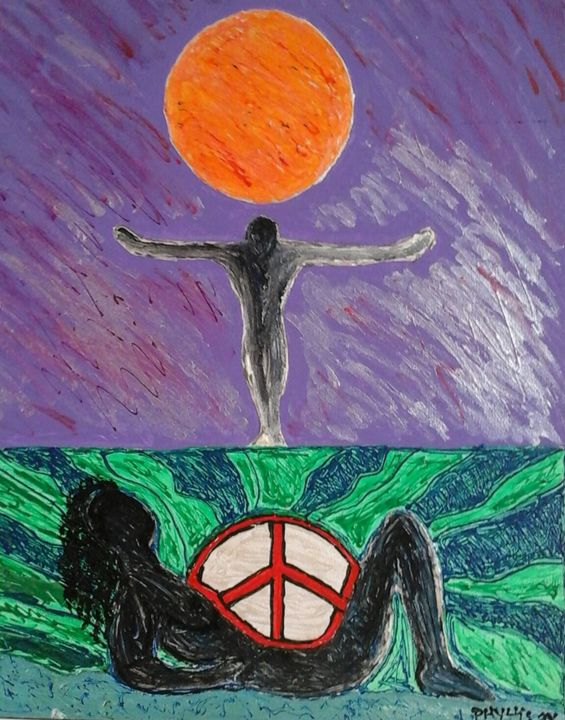 Fly Away to Peace - phyll4art