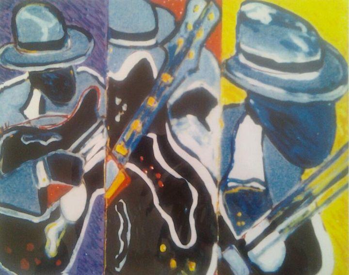 Blues Man - phyll4art