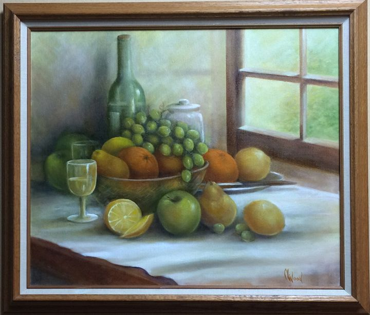 California Harvest - M. Wood Original Oil Paintings