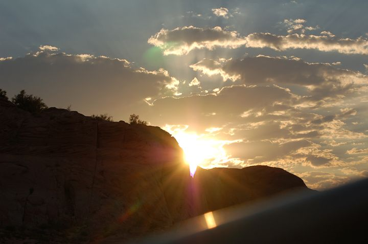 West Canyon Sunset - Light & Reason Photos