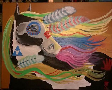 Spiritual Wind - Terry's Artarama