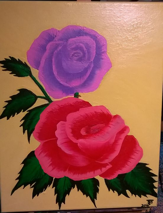 Two Roses - Terry's Artarama