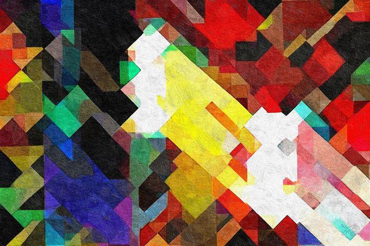 0213 - Pixelated Diagonals - Johan Van Barel