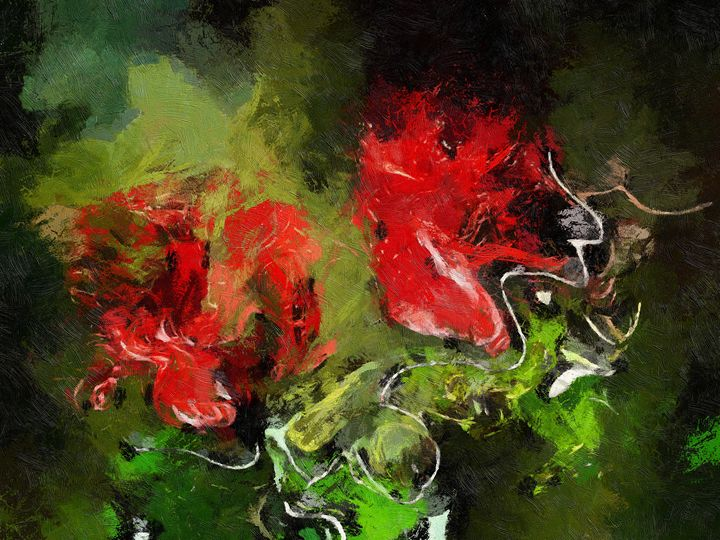 0063 - Red Roses - Johan Van Barel