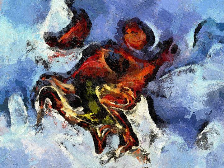 0064 - Sleigh Ride In The Snow - Johan Van Barel
